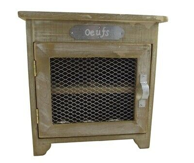 Heaven Sends Oeufs Egg Storage Kitchen Cabinet - Rustic Kitchen Accessory