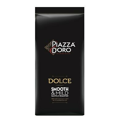 Jacobs Piazza D'Oro Dolce Cafe Cream Doro 6 x 1Kg Total Coffee Beans