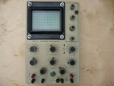 FRONT PANEL for  Heathkit IO-18U valve oscilloscope as pictured..