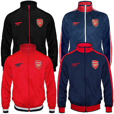 Arsenal FC Official Football Gift Mens Retro Track Top Jacket