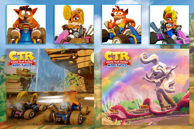 Crash Team Racing: Nitro-Fueled - PS4 Theme / Avatar Pack DLC - CD KEY EUROPE
