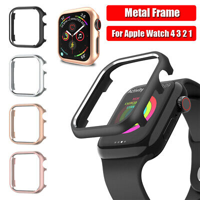Metal Aluminum Watch Cover Protective Case For iWatch Apple Watch 4 3 2 1