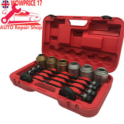26pcs Universal Press Pull Sleeve Kit Remove Install Bushes Bearings Garage Tool