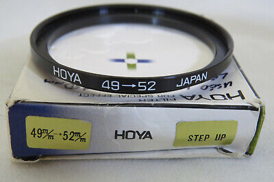 Hoya 49mm To 52mm Step Up Ring + Free UK Postage