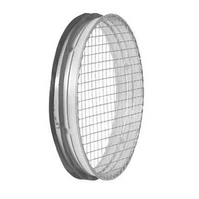 Exhaust Connection with Wire Mesh 100-315mm, Spiral Ducts Air Vent