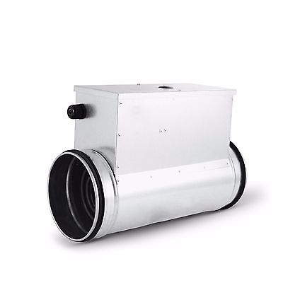 Electro-Heating Coil Dn 100 to 400 from Company Alnor, Steel Zinc Plated