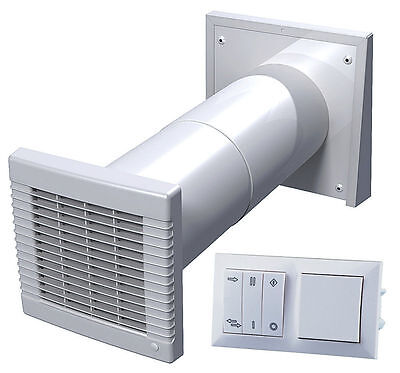Decentralized Living Air Ventilation with Heat Recovery Device 55413 Ra 50