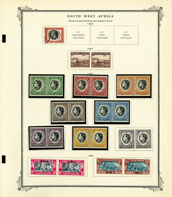 South West Africa Mostly Mint 1930s to 1978 Stamp Collection
