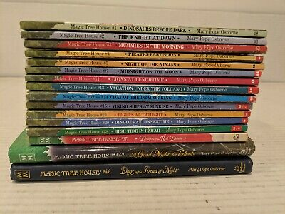 HUGE LOT of 16 different MAGIC TREE HOUSE BOOKS MARY POPE OSBORNE FREE SHIPPING