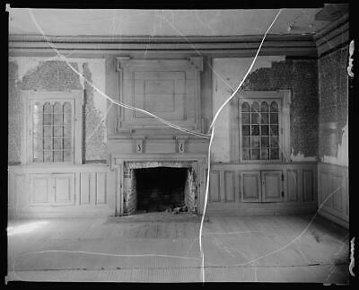 Rogers House,fireplace,woodwork,Craddockville,Virginia,Architecture,c1930  2689