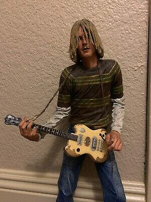 KURT COBAIN 18-INCH NECA Action Figure With Sound 2007 (not Original Guitar)