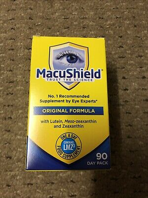Macushield Capsules Eye Supplement (Pack of 90) BB 12/2021