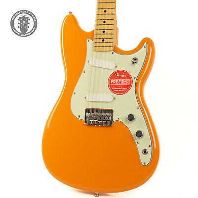 New Fender Duo-Sonic Capri Orange Floor Model