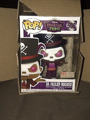 Funko Pop Disney Princess & the Frog Dr Facilier Box Lunch Exclusive WSorter Box