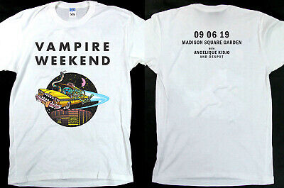 VAMPIRE WEEKEND Sold Out 09 06 19 Madison Squere Garden T-Shirt NEW SIZE S-5XL