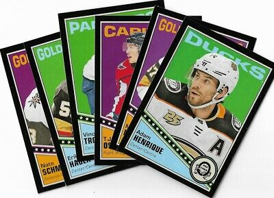 2019-20 O-pee-chee OPC hockey Retro Black Border Parallel /100 Rookies + Vets