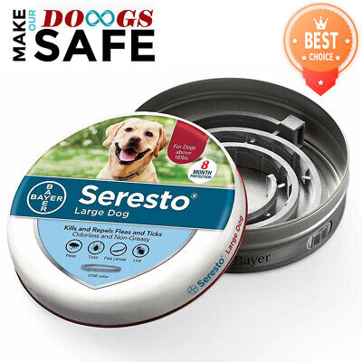 Bayer Flea Collar Seresto Flea and Tick Collar for Large Dog Free Shipping