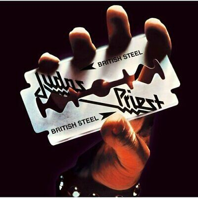 USED ​​CD JUDAS PRIEST British Steel