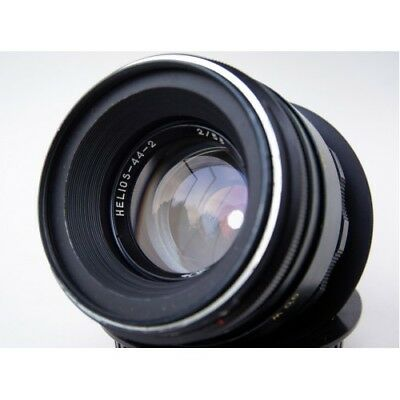 perfect HELIOS 44-2 58mm F2 lens Canon EF EOS USA 2 years warranty