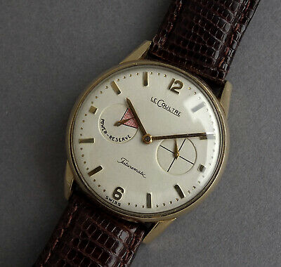 JAEGER LECOULTRE 10K Gold Filled FUTUREMATIC Automatic Bumper Watch 1957