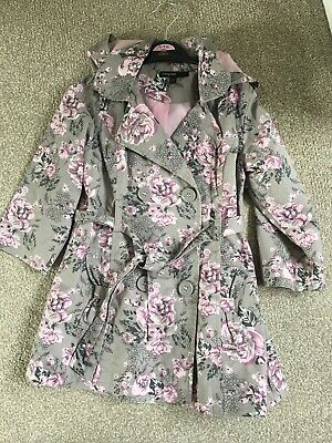 Girls Coat Age 2-3 M&S Marks And Spencers Mac Spring Autumn School