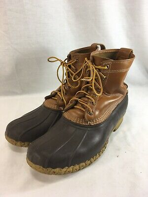 VINTAGE MENS LL Bean Maine Hunting Boots Duck 10