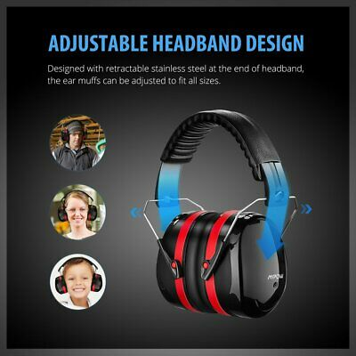 Mpow Noise Reduction Ear Muffs Defenders Hearing Protection for Adult Boys Girls
