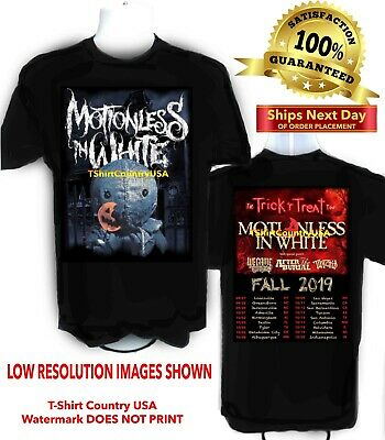 Motionless In White 2019 Trick r Treat Concert t shirt