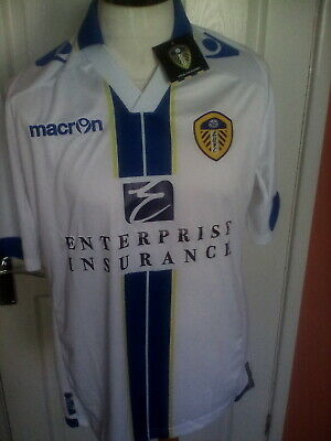 Leeds United  2013/14 Home shirt, New with Tags  size  S  adult