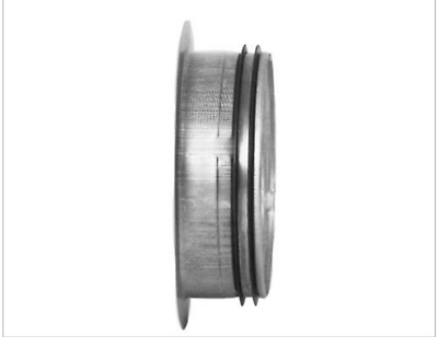 Spigot Flange 63-450 mm with Gasket for Spiral Ducts Aluminum Flexible Pipe