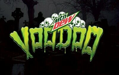 5x 12oz 12pk mountain dew voodew in hand voodoo limited edition going FAST😥
