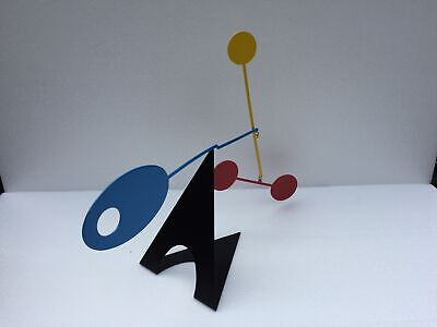 Ekko Workshop Elliptical Desktop Mid-Century Modern Mobile Stabile Kinetic Art