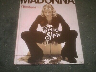 Madonna-The Girlie Show Rare Large Stunning Photo Book With 3 Track Live Cd-90S