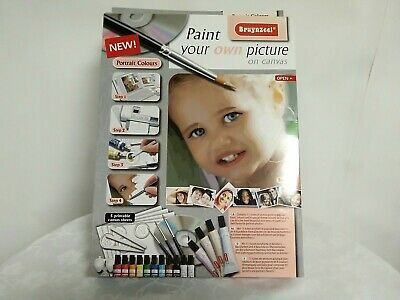 bruynzeel paint your own picture on canvas