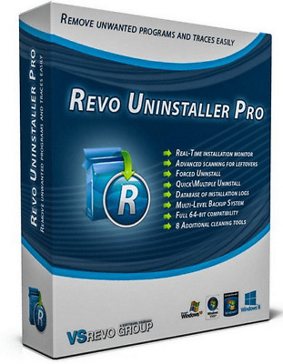 Revo Uninstaller Pro 4.1.5 Activated Lifetime Instant Delivery