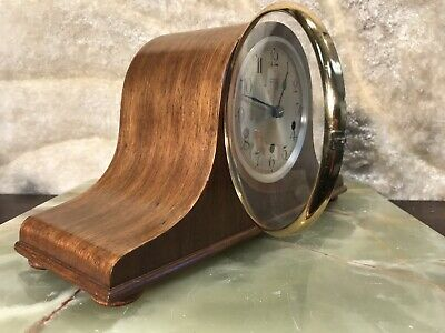 Rare Vintage Antique Germany Kienzle Striking Clock,Walnut Case,Watch Video