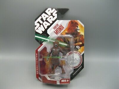 2007 Star Wars 30th Anniversary Voolvif Monn Coin Action Figure no. 58