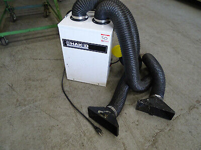 Hakko Soldering Fume Extraction System Model HJ3100 w/ Hoses