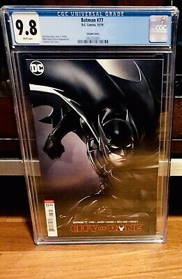 BATMAN #77 Variant CGC 9.8 Death of Alfred BOOK IN HAND 2019 DC Comics NM Robin