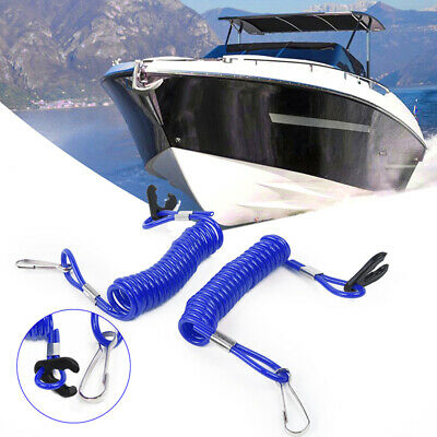 Outboard Safety Rope Stop Floating Safety Lanyard Spring hook Practical
