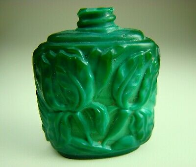 Antique Chinese Beautiful Glass Snuff Bottle