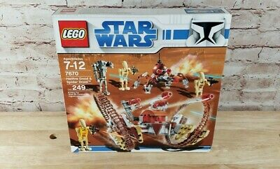 LEGO Star Wars HAILFIRE DROID /& GEONOSIS TROOPERS 75085 75089 Lieutenant Battle