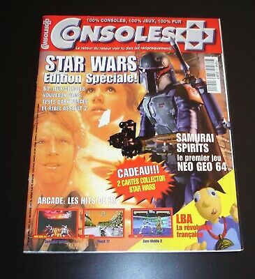 CONSOLES + Plus - Magazine - N°64 Avril 1997 - Star Wars edition Speciale