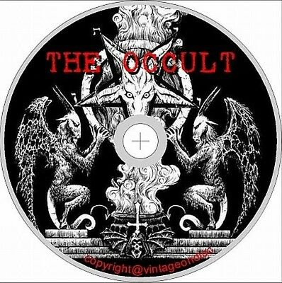 Occult Book Collection 950 Books 900 Images on Dvd Rom