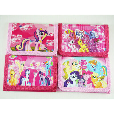 My Little Pony Girls Wallet Coin Purse Trifold Zip Kids Birthday Party Gift