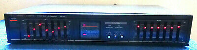 Vintage JAPANESE Made FISHER Stereo equalizer Model EQ-870 working Condition.