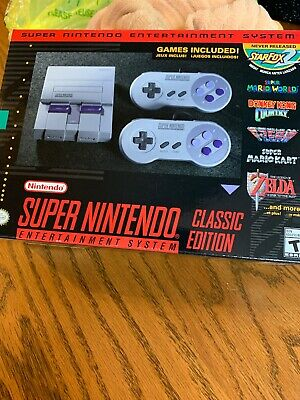 Super Nintendo Entertainment System: Super NES Classic Edition.