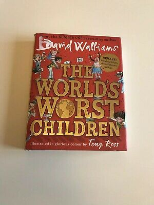The World's Worst Children by David Walliams (Hardback 16) Book Advent Calendar