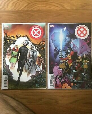 HOUSE OF X #1 & POWERS OF X #1 NM 1st Print Set Marvel Comics (2019)
