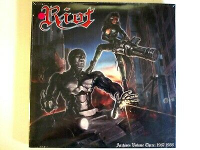 Riot Archives Volume Three 1987-1988 Lp Import 2019 (2) Color Vinyl Mark Reale
